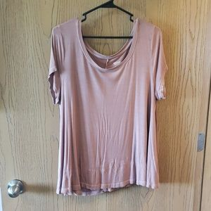 Mossimo Supply Co. Tops - Light Pink Flowy T-Shirt
